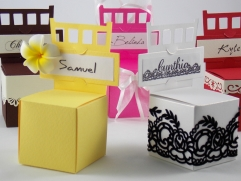 Chair Box with Place Card